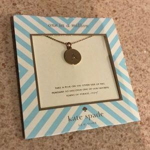 Kate spade A pendant necklace
